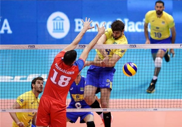 آخرین تمرین تیم ملی والیبال ایران برگزار شد