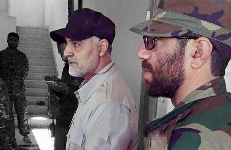 فیلم دیده نشده از حاج قاسم در سوریه