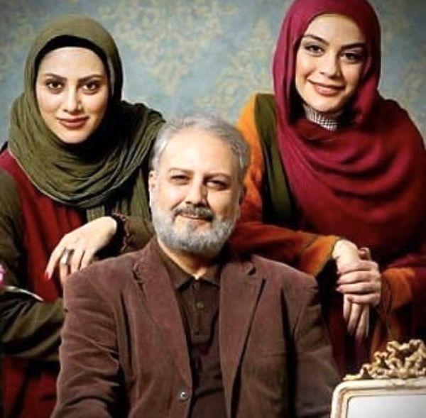 دختران بازیگر جلیل فرجاد + عکس