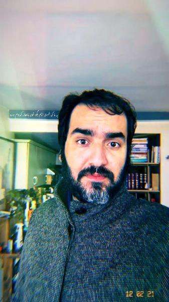 چهره انقلابی آقای بازیگر + عکس