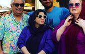 علی صادقی و خانواده اش+عکس