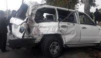 ۱۸ کشته در محل تصادف رئیس تامین اجتماعی از سال گذشته