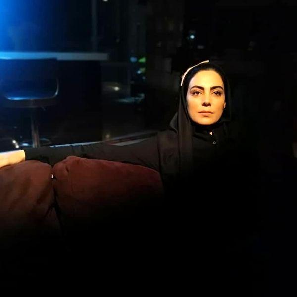 وضعیت روز تاسوعا خانم بازیگر سریال مرضیه+عکس