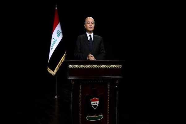 سخنان رئیس جمهور عراق به مناسبت اربعین امام حسین(ع)