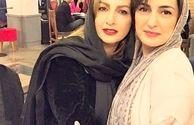 مریم شیرازی درآغوش شقایق دهقان بعد از رژیم+عکس