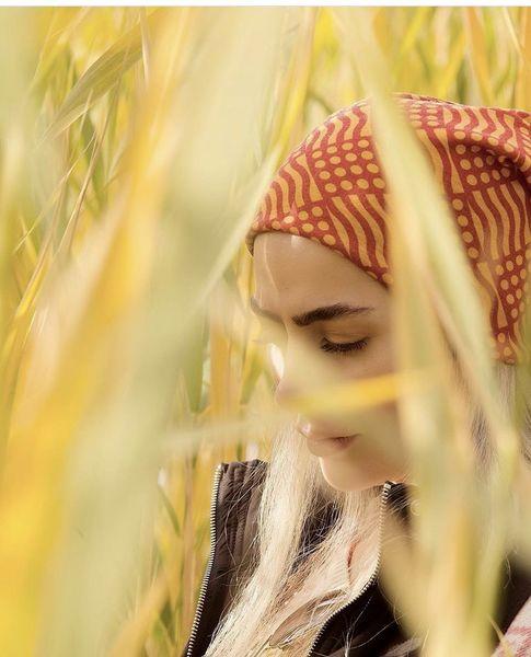 سمانه پاکدل غرق در طبیعت + عکس