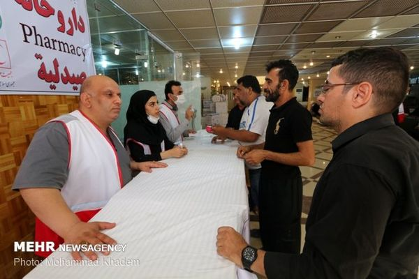 امدادرسانی به ۶۴ هزار زائر اربعین در قرارگاههای مرزی هلال احمر
