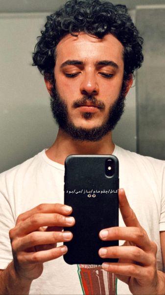 ظاهر آشفته علی شادمان + عکس