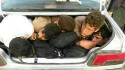 قاچاق انسان در محور ایرانشهر-خاش