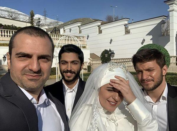 بازیگراناز سرنوشت در مراسم عروسی + عکس