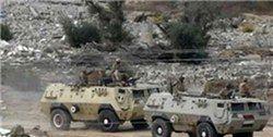 کشته و زخمی شدن ۸ سرباز مصری بر اثر حملات تروریستی