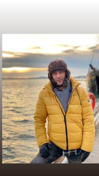 استایل بازیگر معروف در سرمای کانادا + عکس