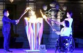 مشعل بازیهای پارالمپیک 2021 در توکیو روشن شد