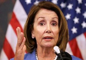 اعتراض۱۶ نماینده دموکرات به انتخاب «نانسی پلوسی»