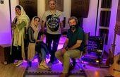 دورهمی حدیثه تهرانی و دوستانشان + عکس
