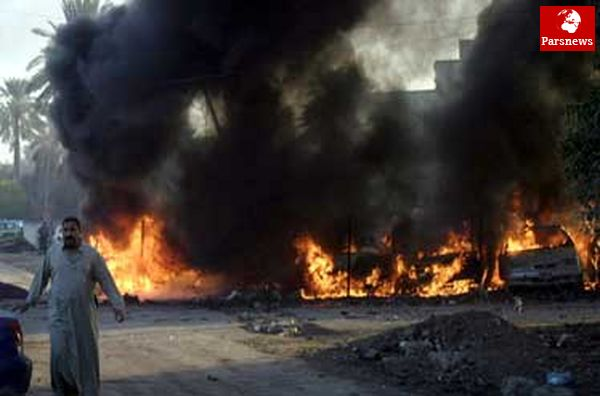 انفجار تروریستی در العامریه بغداد