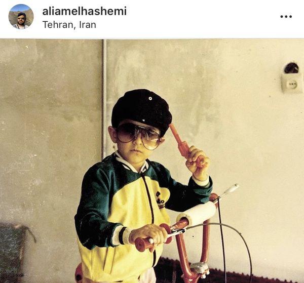 علی شادمان در خردسالی + عکس