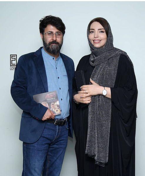 عکس بازیگر پایتخت و همسرش