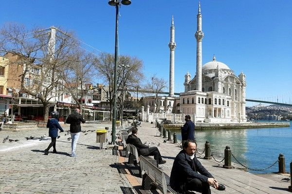 عکس نمای زیبای شهر استانبول