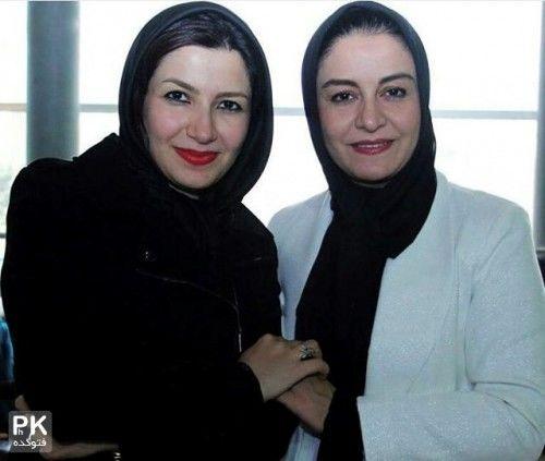 عکس خانومانه و سنگین خاله شادونه و خواهر بازیگرش