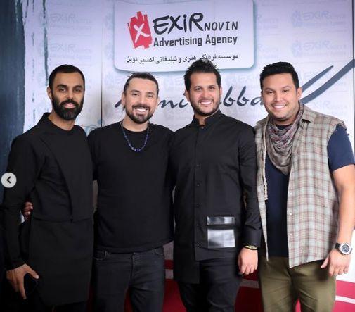 میهمانان مشهور کنسرت امیرعباس گلاب + عکس