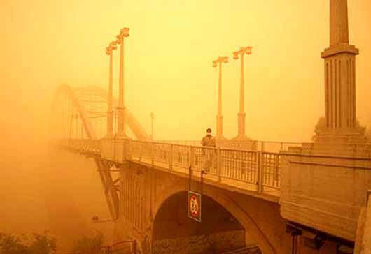اختصاص 10میلیارد تومان برای پیش بینی گرد و غبار خوزستان