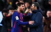 مسی میخواهد والورده در بارسلونا بماند