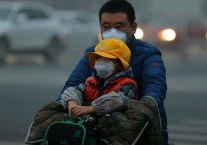 هشدار آلودگی هوا در ۷۹ شهر چین