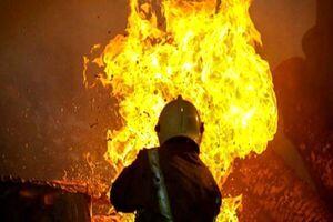 آتش سوزی امروز در خیابان صفا+جزئیات