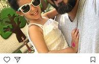 شباهت کامبیز دیرباز و دختر نازش+عکس
