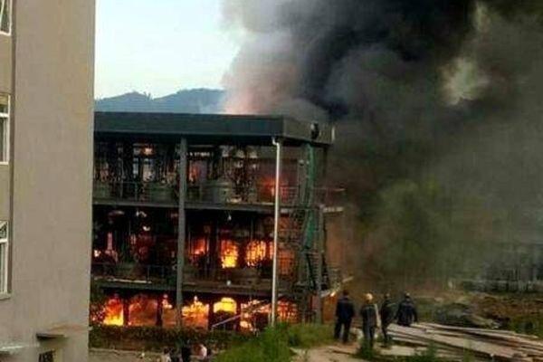 انفجار در چین ۱۹ کشته بر جای گذاشت