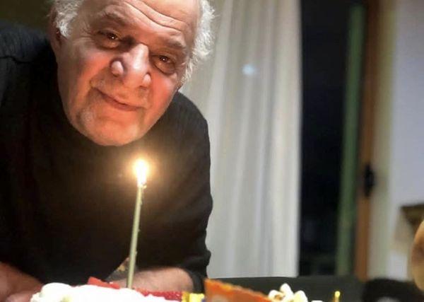 تولد سوت وکور هفتاد و شش سالگی آقای بازیگر + عکس