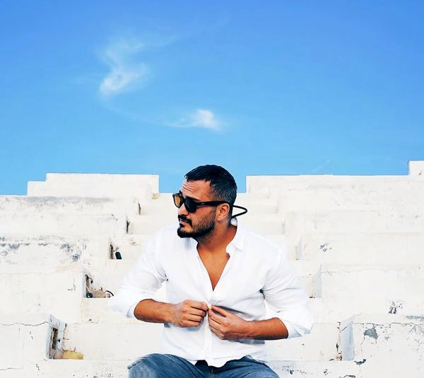 میلاد کی مرام در سفیدی چشمگیر + عکس