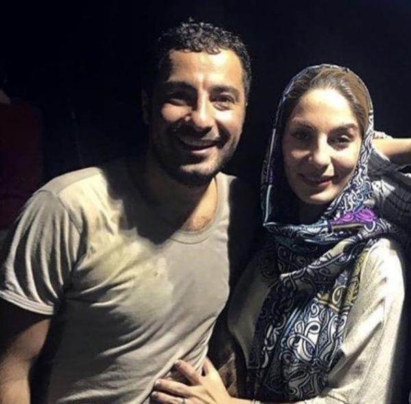نوید محمدزاده در آغوش خواهرش + عکس