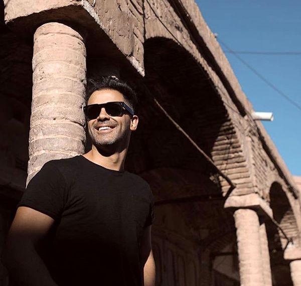 سیروان خسروی در عمارتی تاریخی + عکس