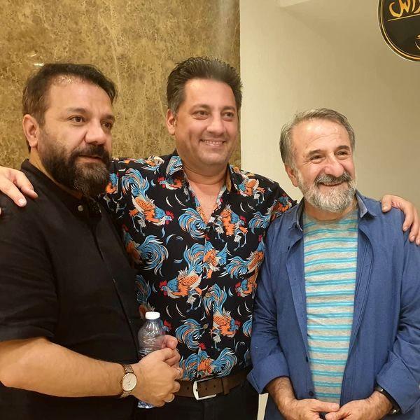 مهران رجبی و دوستان مجریش + عکس