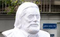 چرا مجسمه مرحوم جمشید مشایخی شبیه او نیست؟ + گفتگو با سازنده آن