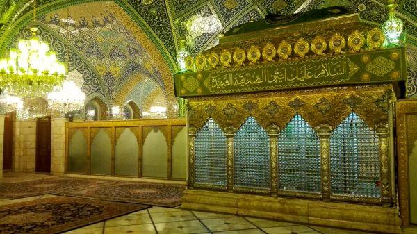بازسازی ضریح حضرت رقیه (س) در تهران