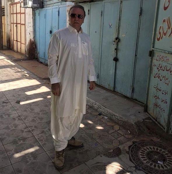 کیهان ملکی با لباس محلی + عکس