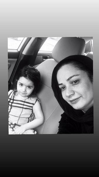 فهیمه پایتخت و دختر کوچکش + عکس