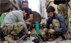 منافقین در سوریه در پوشش گروههای امدادی