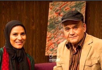 اکبر عبدی در کنار همسر سابق آقای بازیگر معروف+عکس