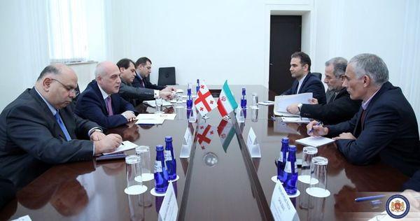 سفیر ایران در تفلیس با وزیر امور خارجه گرجستان دیدار کرد