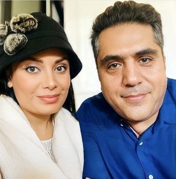 صبا راد و همسرش پس از مهاجرت + عکس