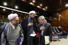مراسم تکریم و معارفه ریاست نمایندگی رهبری در دانشگاه شریف