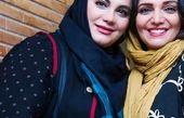 الهام پاوه نژاد در کنار خانم کارگردان پرطرفدار این روزها