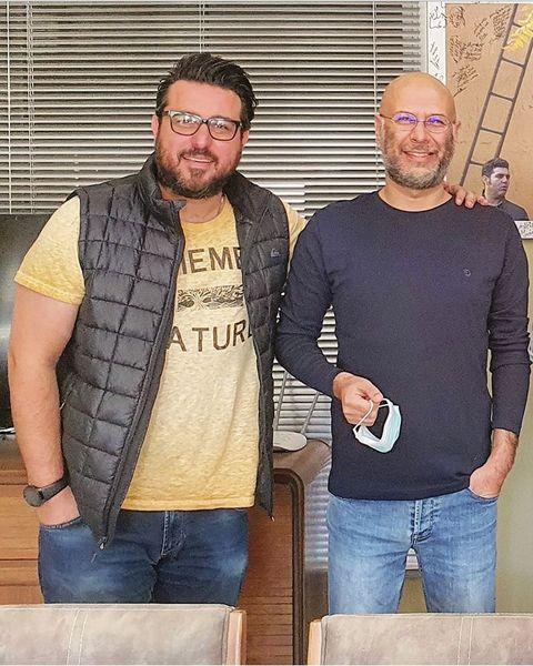 دوستی محسن کیایی با صدا پیشه معروف + عکس