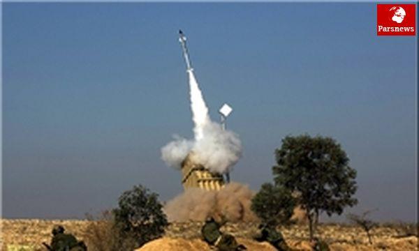 گنبد آهنین نتوانسته راکتها را هدف قرار دهد