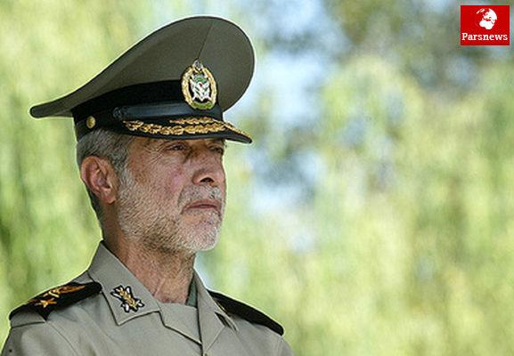 واکنش سرلشکر صالحی به توپهای لیزری آمریکا