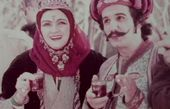 مهدی هاشمی و همسر سابقش در سریالی قدیمی + عکس